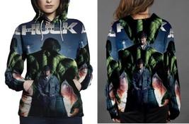the incredible hulk movie poster Hoodie Women's - $44.99+