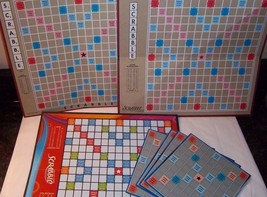 SCRABBLE Game Boards Only LOT Some NEW ALL CLEAN incl Small Me Craft Rep... - $18.80