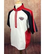FootJoy Golf 1/2 Sleeve Tour Wind Pullover Jacket NCAA USI Eagles White ... - $45.53