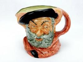 "Vintage Royal Doulton England Falstaff Toby Mug Jug D-6287 6.5"" 1949 - $39.15"