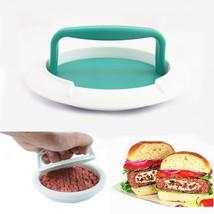 DIY Hamburger Patty Maker Manual Mould Burger Meat Press Kitchen Cooking... - $17.99