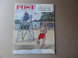 Saturday Evening Post Magazine June 17 1961 Complete - $9.99