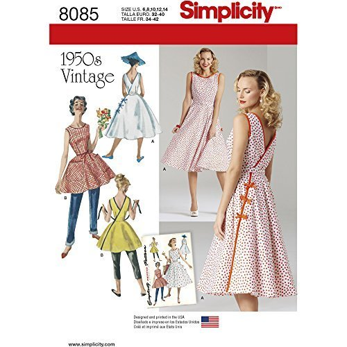 0fc999f0ccc0 Simplicity 1950 Sewing Pattern (1950s): 1 customer review and 73 ...