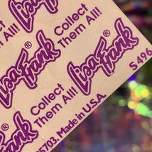 Vintage Lisa Frank Complete Sticker Sheet S496 Smile Flower Smilies DOPE AF image 3
