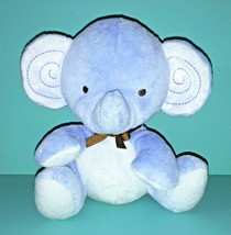 "Fisher Price My Little SnugaMonkey Blue Elephant 6"" Bean Bag Plush Baby ... - $9.95"