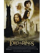 Lord Of The Rings Two Towers Movie Poster 24 X 36 - $18.00