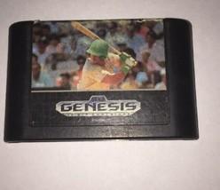 Sports Talk Baseball --- Sega Genesis Free Shipping - $9.85