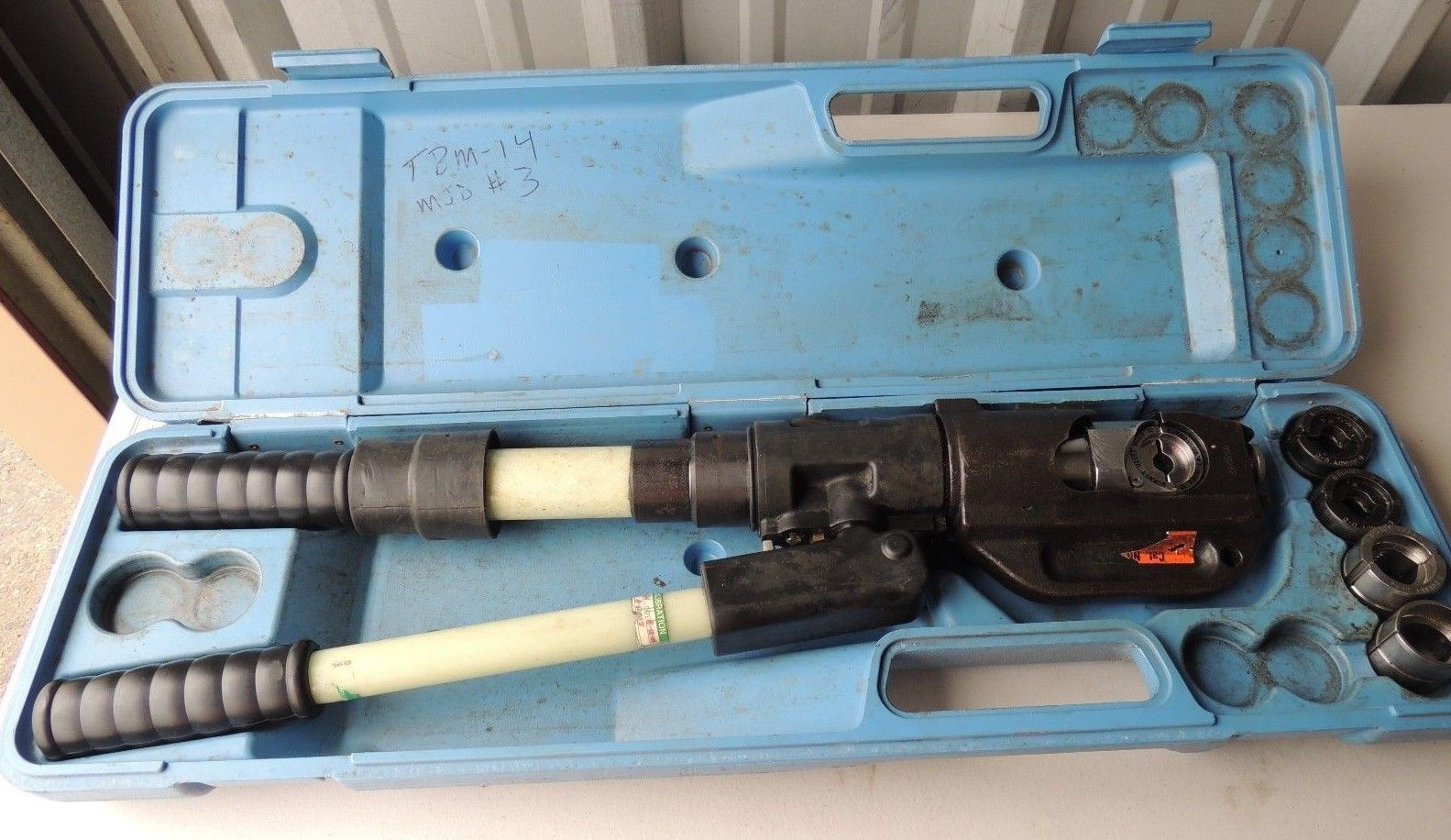 T&B Manual Hydraulic Crimper Tool with Case and 14 similar items