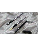 sheaffer fountain pen vintage with cartridge 3 pc - $148.02