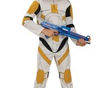 Star Wars Clone Wars Boys Commander Cody Clone Trooper Costume Size 4-6
