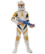 Star Wars Clone Wars Boys Commander Cody Clone Trooper Costume Size 4-6 - $19.99