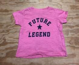 Carter's Baby Girls 6 MOS Future Legend T-Shirt Pink 100% Cotton Top  - $4.80