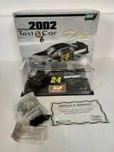 Jeff Gordon #24 2002 Black Dupont Test Car W/STOPWATCH 1/24 Scale Monte Carlo - $24.95