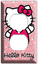 Hello Kitty Little Kitten Cat Outlet Wallplate Girls Bedroom Room Art Decoration - $9.99