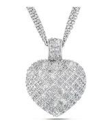 1001 LOVE SPELL Heart Pendant 1 Carat TW DIAMON... - $249.50