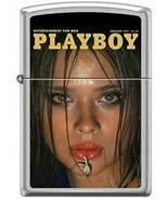 Playboy February 1977 Cover Satin Chrome Zippo Lighter - $37.95