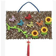 Hand Made DIY Product with Butterfly and Sunflower Pattern D¨¦cor image 2