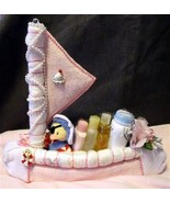 Pink DIAPER SAILBOAT Baby Shower Sail Boat Girl... - $39.00