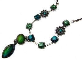 Statement Necklaces Beaded Necklaces Green Necklaces - $16.34