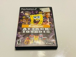 Sony PlayStation 2 / PS2 - Nicktoons Attack of the Toybots - $10.00