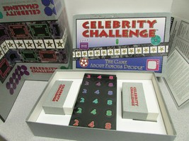 CELEBRITY CHALLENGE GAME 1992 FAMOUS PEOPLE  - $9.75