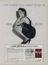 1992 Hanes Pantyhose Vintage Magazine Ad Sexy Girl Black Dress Savings O... - $4.47