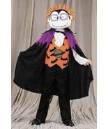 CHUCKY RUGRATS Vampire costume 4/6 damaged -cracked mask - $12.00