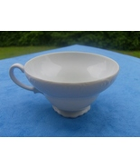 Ornate White Footed Tea Cup Vintage  - $2.99