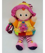 Lamaze Doll Toy Rattle Clip My Friend Emily Sensory Development Baby Gir... - $14.99
