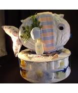 Ocean FISH Baby Shower Gift Diaper Cake Sea Cen... - $48.00