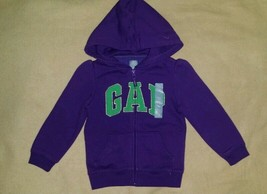 Gap Girls Sweatshirt hoodie fleece lined new size 4 - $19.79