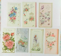 Set of 7 Vintage Greeting Cards Get Well Unused - $18.80