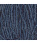 11/0 Seed Bead Czech Rocaille Full Hank Blue 9 - $6.95