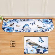 Blue Songbird and Flower Anti-Fatigue Mat - $32.41