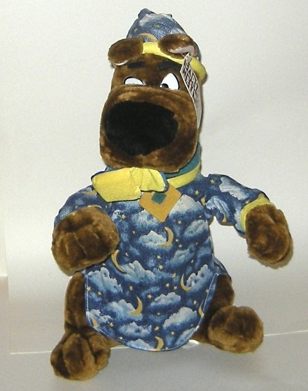 1/2 Price! Big Scooby-Doo Stuffed Plush Bedtime Cartoon Network NWT