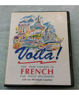 Voila ! The New Course in French for Adult Beginners - cassette based - $20.00