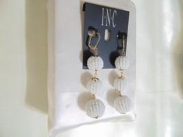 INC International Concepts Gold-Tone Beaded Ball Triple Drop Earrings N1... - $12.47
