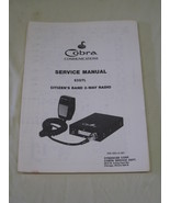 Cobra Communications Service Manual for a Cobra 63 GTL - $9.95