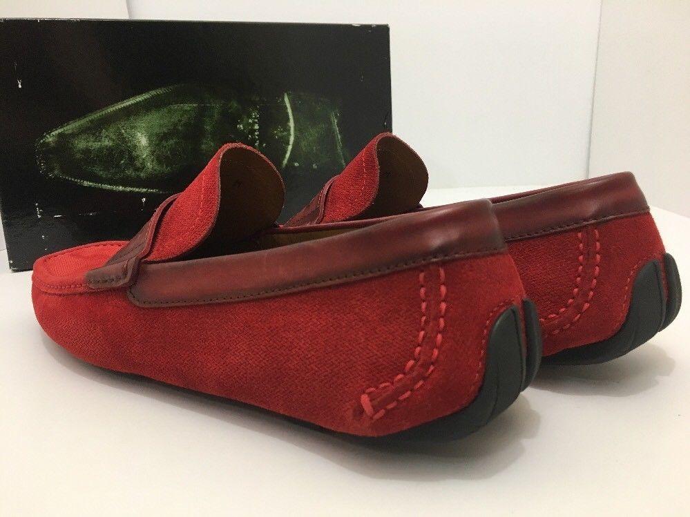 Magnanni Rafu 17987 Red Men's Loafer Size 41 US 8 M