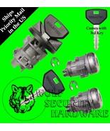 Dodge Ram Others Ignition Key Switch Lock Cylinder & Door Lock Set 2 Keys - $66.96