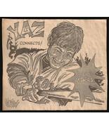 Yaz Carl Yastrzemski Red Sox Sports Cartoon Newspaper Clip Baseball Sketch - $12.99