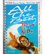 All The Best Songs For Kids NEW Sheet Music and Songbook 230 Praise Chor... - $26.29