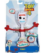"Disney Pixar Toy Story 4 True Talkers Talking FORKY Figure 8"" 15+ Phrase... - $24.99"