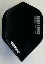 Winmau Rhino Plus Black Standard Dart Flights - $1.36