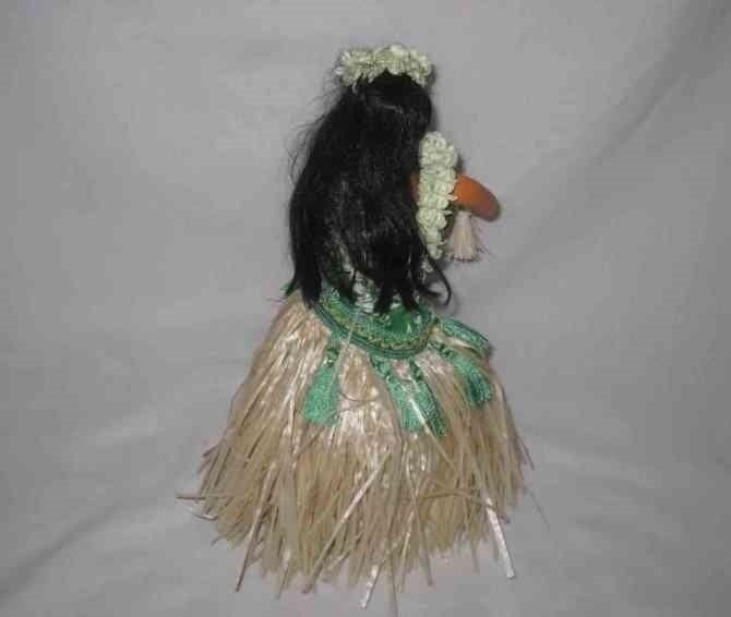 """Neat 12"""" 1984 DSTK Hawaii Hawaiian HULA Girl Battery Operated"""