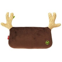 Simple Design Car Headrest/Car Neck Pillow ,(Lovely Elk) BROWN