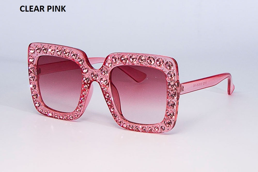 0643f912a4d1 Sunglasses   Sunglasses Accessories NEW Oversized Square Frame Bling  Rhinestone Sunglasses Women Fashion Shades 2018