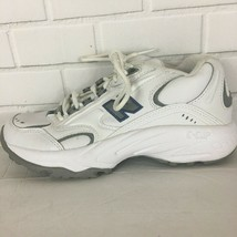 New Balance 336 Women's Cross Training Sneakers Size 6.5 White Leather - $22.49
