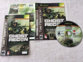 Tom Clancy's Ghost Recon (Microsoft Xbox, 2002) Original OG - $3.46