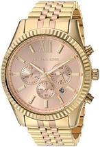 Michael Kors MK6473 Two Tone Lexington Rose Gold Dial Ladies Watch - $270.84